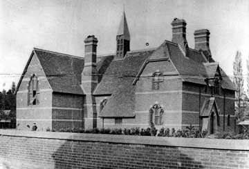 All Saints Parochial School about 1866 [Z50/31/42]